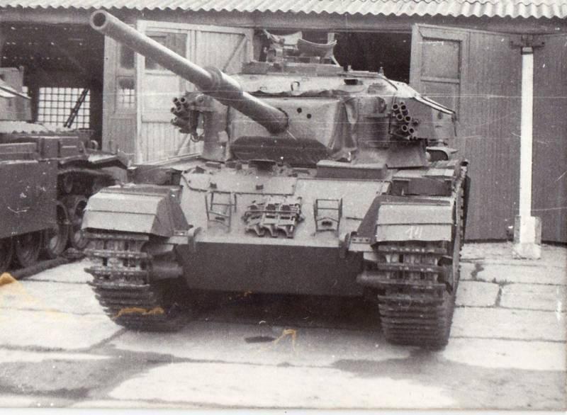 Пленные «Центурионы»: британская броня в Кубинке оружие,танки