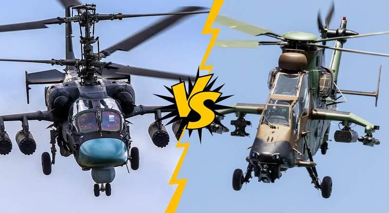 Ка-52 vs Eurocopter Tiger: выбираем, чей хайтек хайтечнее