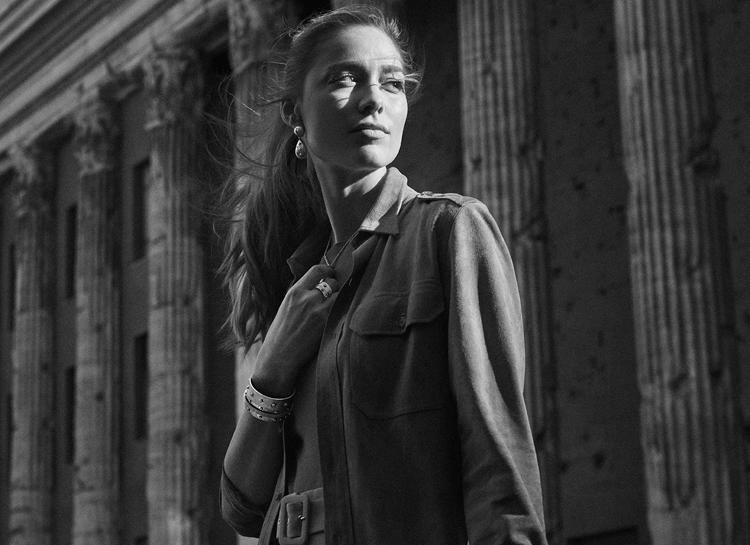 Жена племянника князя Монако Беатрис Борромео снялась в рекламной кампании ювелирного бренда Мода,Новости моды