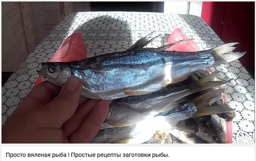 Просто вяленая рыба ! Простые рецепты заготовки рыбы.