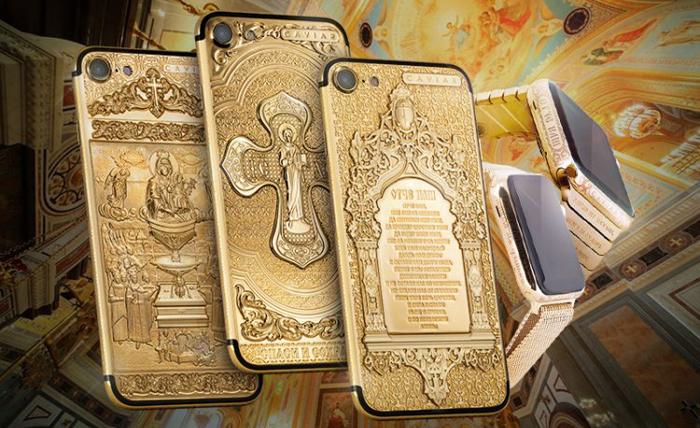 «Спаси и сохрани»: провокационная пасхальная коллекция золотых айфонов