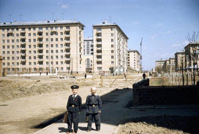 СССР 1958 года в цвете. Какой была наша страна 60 лет назад
