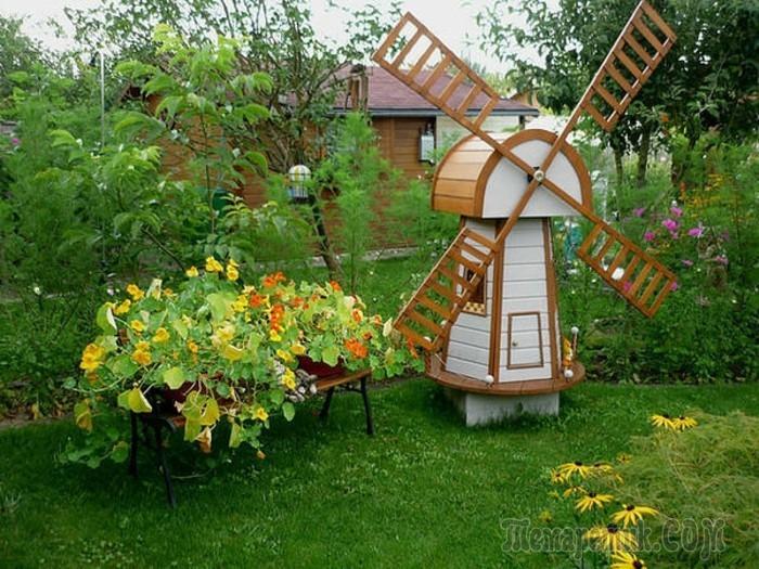 Как сделать клумбу или садовую фигуру своими руками из подручных материалов