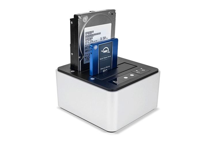Станция для накопителей OWC Drive Dock оснащена портом USB Type-C гаджеты