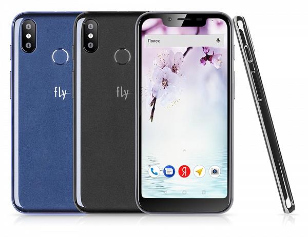 5,5-дюймовый смартфон Fly View Max оценен дешевле 7 500 руб.