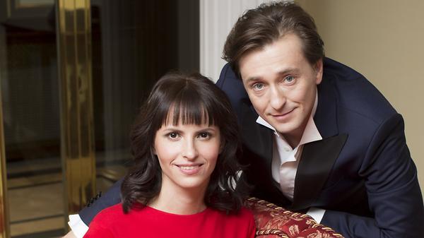 Сергей Безруков и Анна Матис…