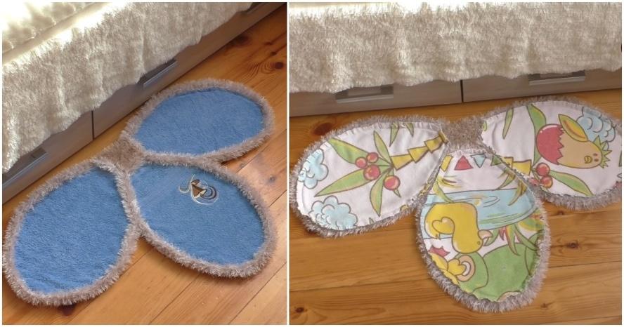 Превращаем старые полотенца и одеяла в уютные предметы обстановки