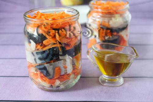 Скумбрию готовлю в стеклянной банке в духовке рыбные блюда