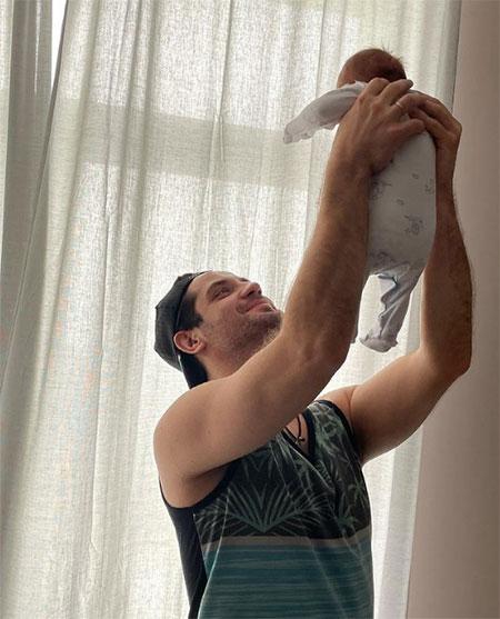 Марк Богатырев рассказал о трудностях отцовства и первом месяце жизни сына Дети,Дети знаменитостей