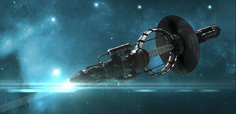 Футуристический космический корабль. Источник изображения: sci-ne.com