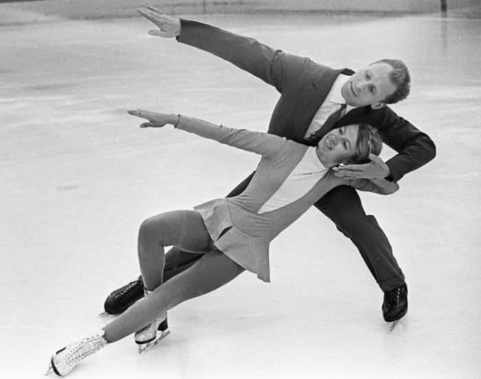 Фигуристы на льду, 1965   Фото: aif.ru