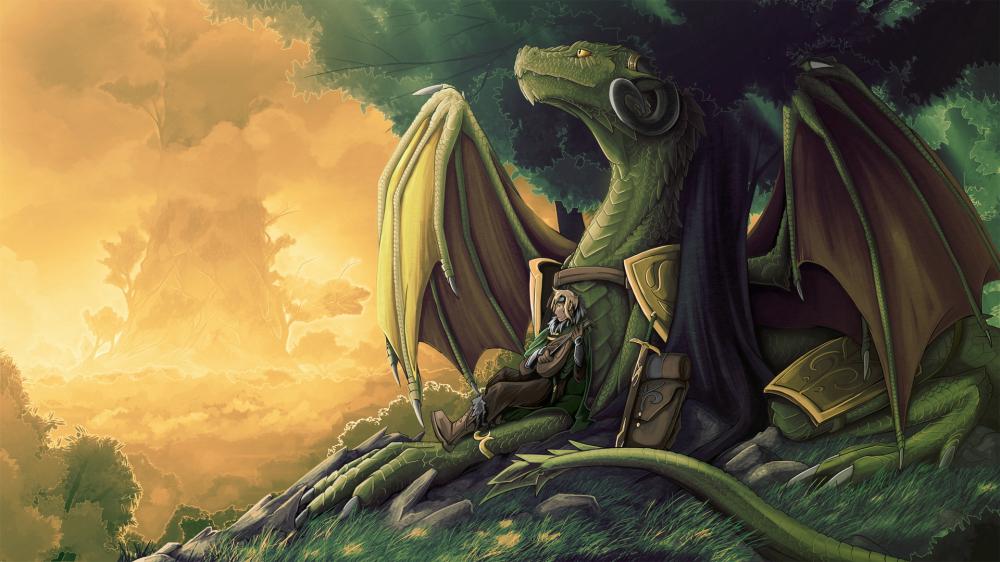 Дружба с драконом: современная притча