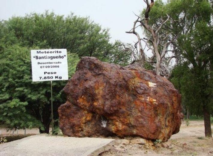 10 самых крупных метеоритов, обнаруженных на Земле