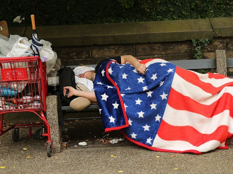 8. Бомжи везде америка, иммигранты, интересное, мнение