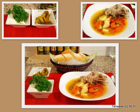 Индюшинный суп с овощами и сельдереем. Фото-рецепт. Татьяна (с) SLO