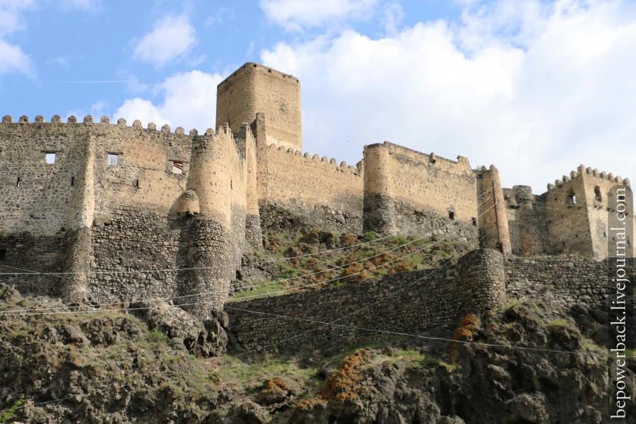 Грузия, крепость Тмогви