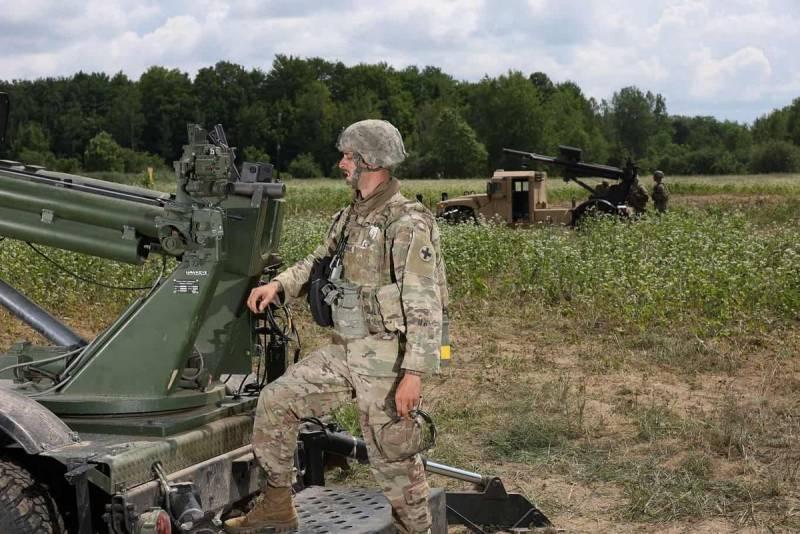 «Стреляй и беги». Самоходная 105-мм гаубица Hawkeye на шасси Humvee