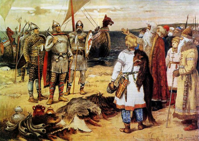 Русские это потомки викингов и враги человечества +18