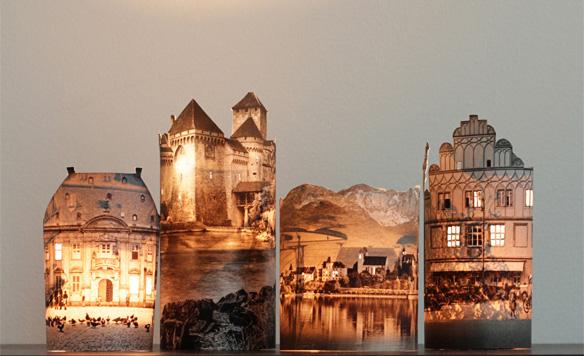 Делаем сами: свеча-замок