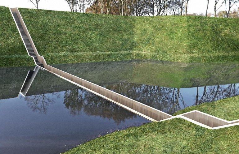Мост Моисея в Нидерландах