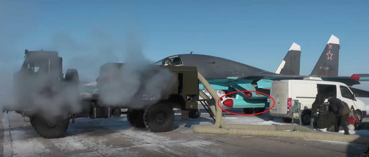 Бомбардировщик Су-34 получил «Тарантула»