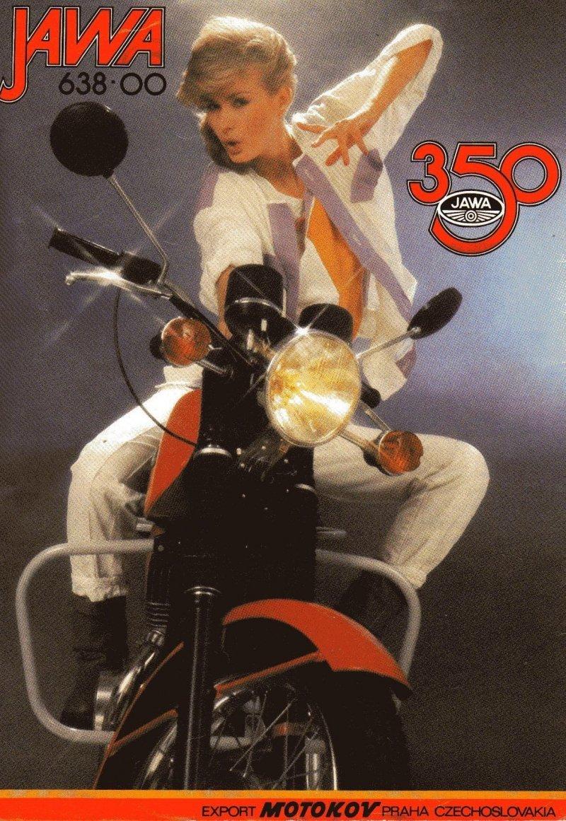 Новая Jawa 350, простоявшая 30 лет в квартире мото