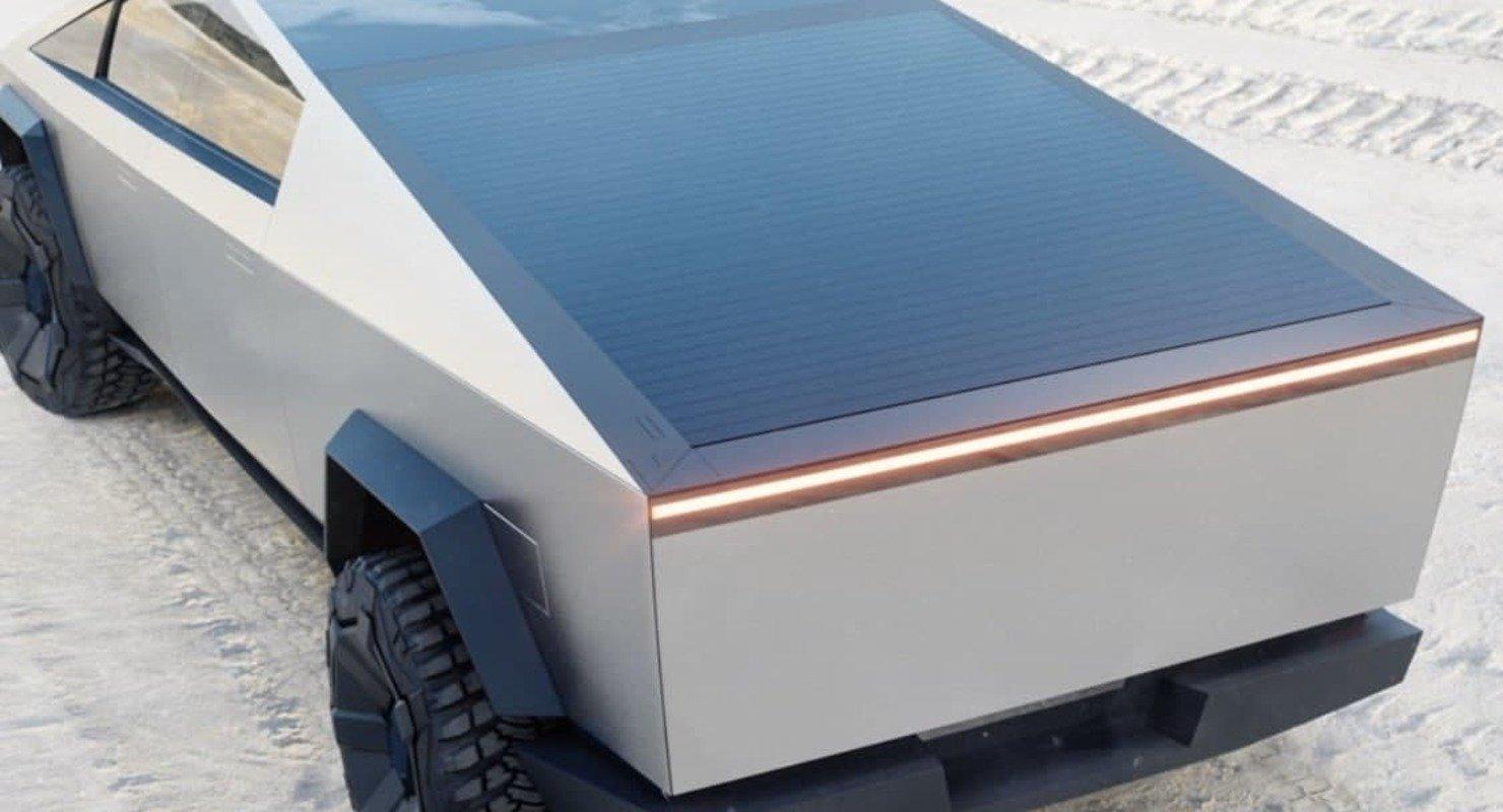 Компания Tesla подала патент на солнечную крышу для Cybertruck Автомобили