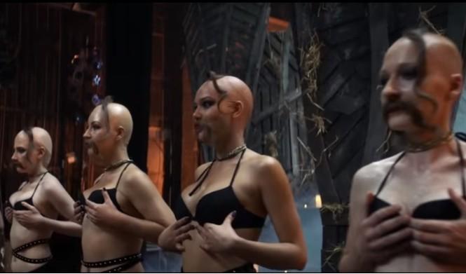 Секс на сцене и полный шабаш! Клип на песню «Ленинграда» «Страшная месть» к фильму про Гоголя!