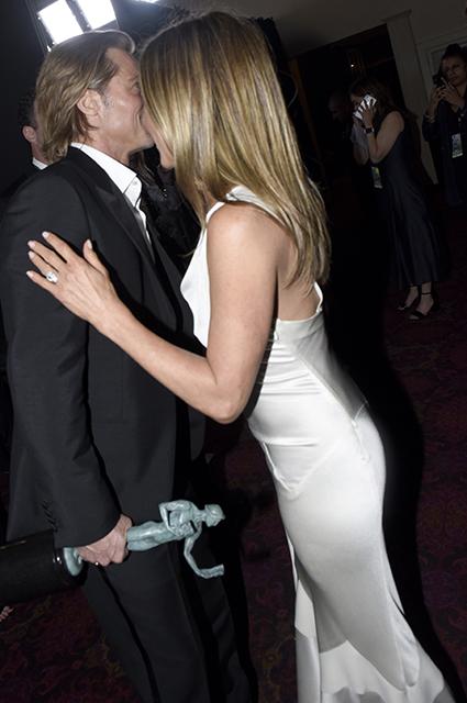 Дженнифер Энистон о поддержке Брэда Питта на SAG Awards: