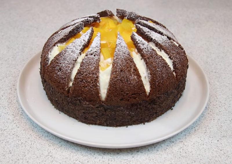 Эффектный и оригинальный торт «Килиманджаро» десерты,кулинария,сладкая выпечка,торты