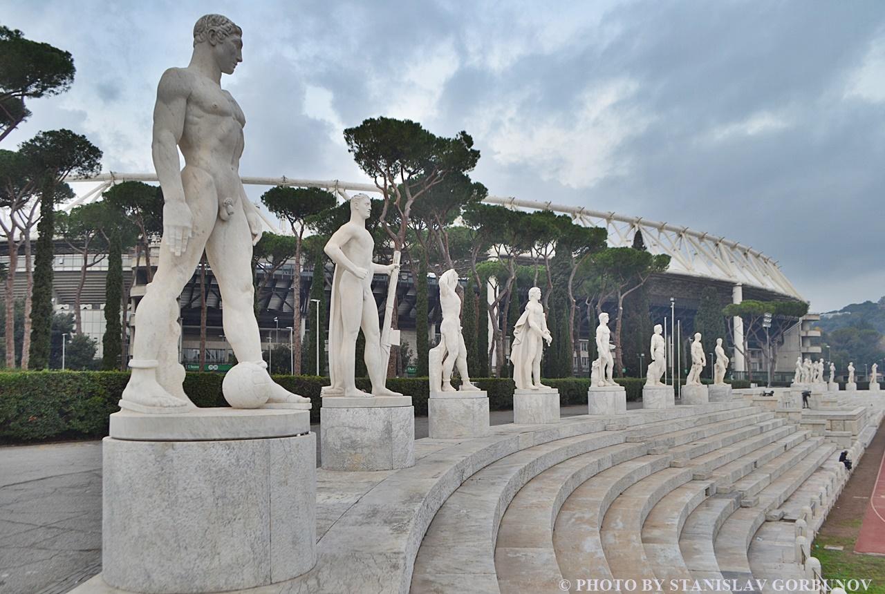 Форум Муссолини – самая необычная достопримечательность Рима