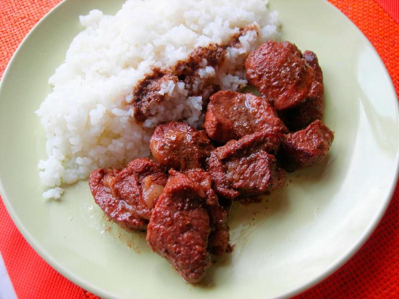 Свинина маринованная в красном вине с кориандром кулинария,мясные блюда