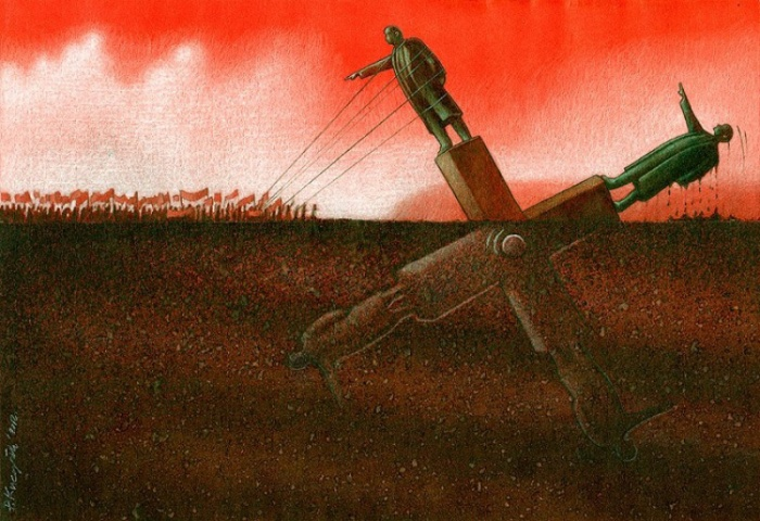 Карикатуры Павла Кучински о том, что не так с современным обществом
