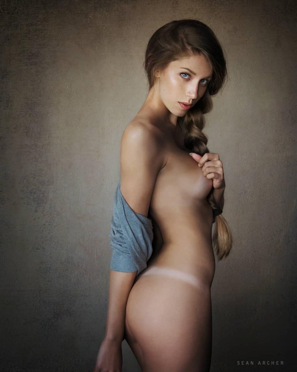 Чудесные женские портреты Станислава Пучковского портрет