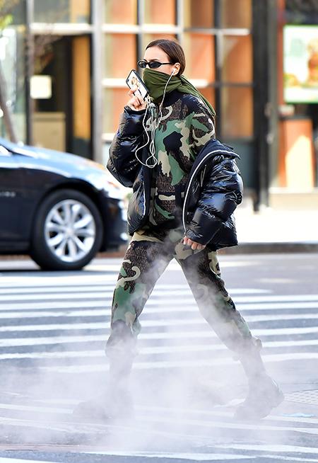 Апокалипсис сегодня: новый образ Ирины Шейк, как из фильмов про конец света Мода,Стиль звезд