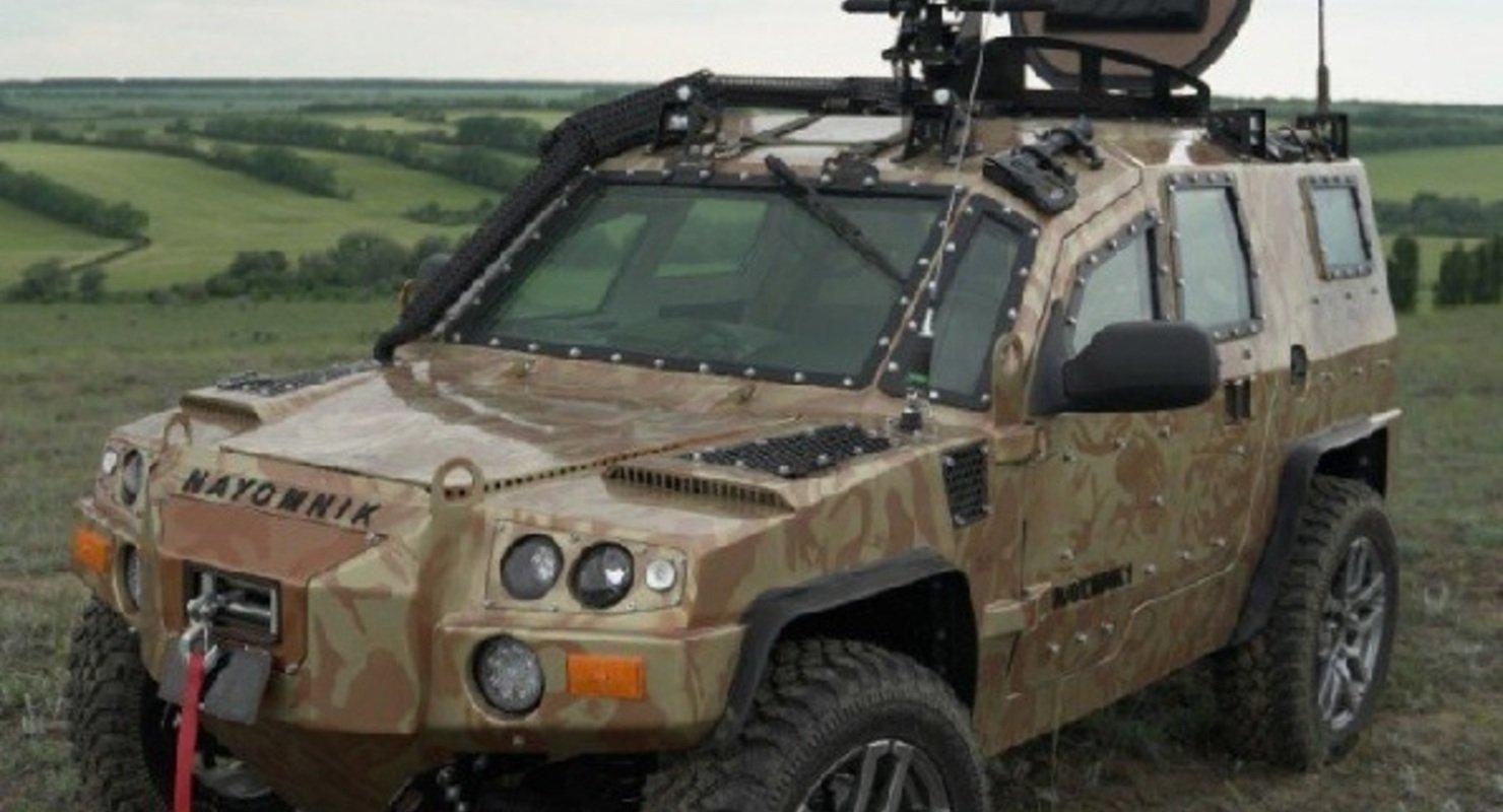 В России разработали новый компактный внедорожник «Наемник» для силовых структур Автомобили