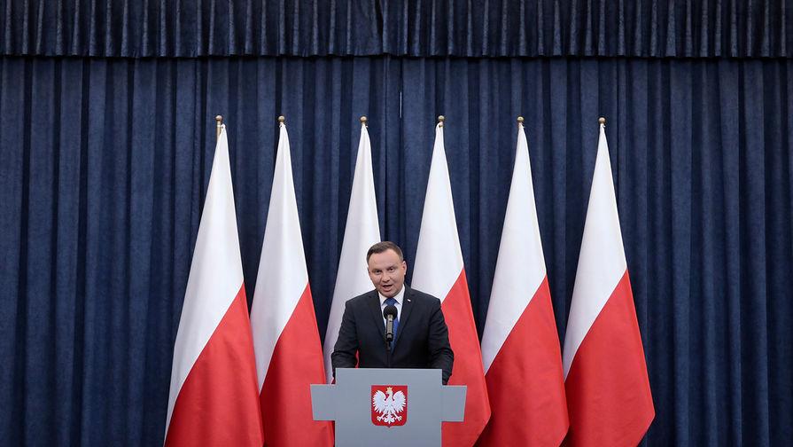 """Президент Польши хочет помочь Киеву """"вернуть"""" Крым и Донбасс"""