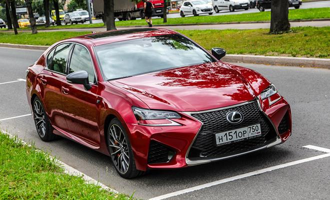 Тест-драйв Lexus GS F