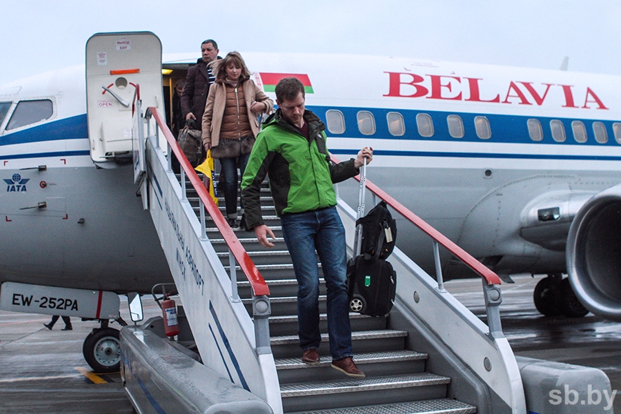 В России начали проверять паспорта всех пассажиров авиарейсов Минск-Москва