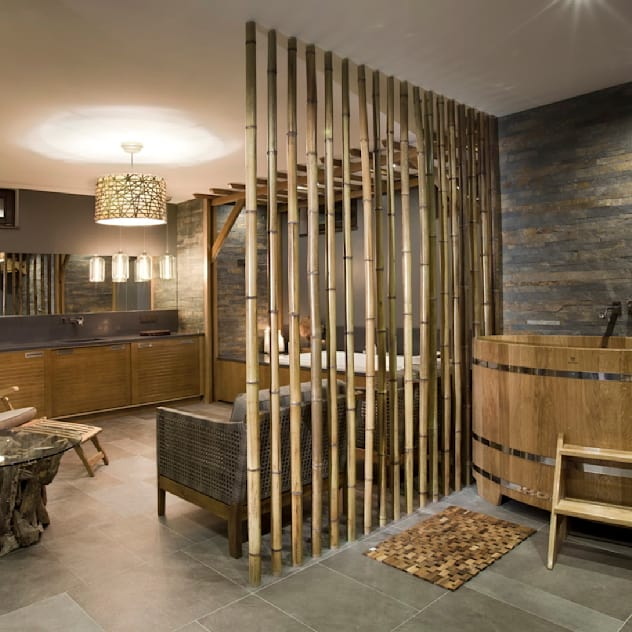 Комната отдыха при сауне: Спа, бани, сауны в . Автор – Abwarten!