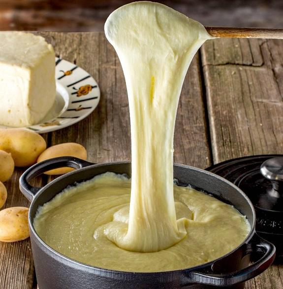 Сырное пюре Алиготе. Вкуснее вкусного