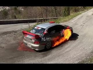 Отборные аварии на раллийных гонках Rally crashes