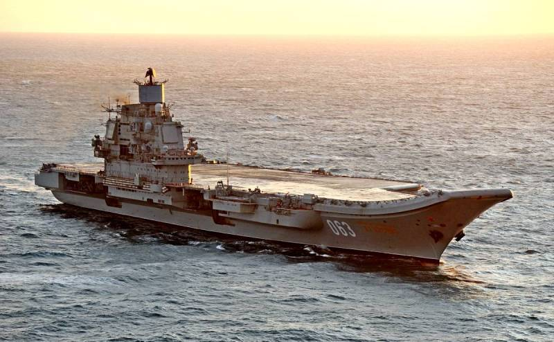 The Drive: России следует отказаться от проклятого авианосца Техно