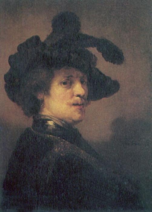 Автопортрет 1635-1636 гг. \ Фото: ja.wahooart.com.