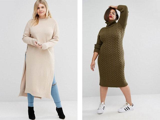 Модные зимние платья