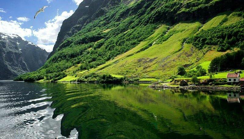 Согнефьорд (Sognefjorden) путешествия, факты, фото