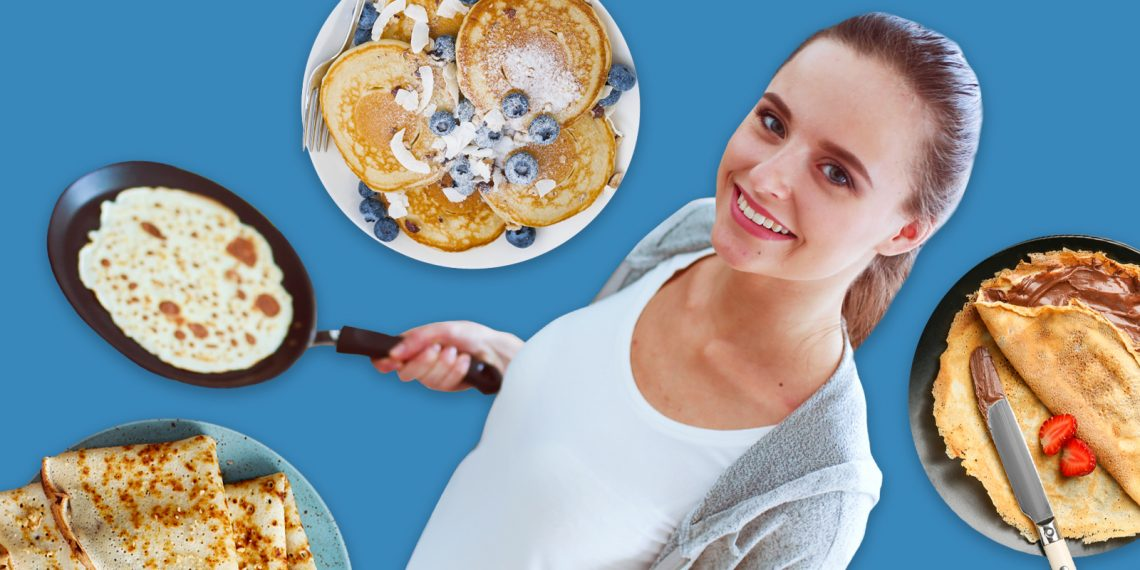 Правильный читмил: 6 рецептов блинов и 7 начинок к ним