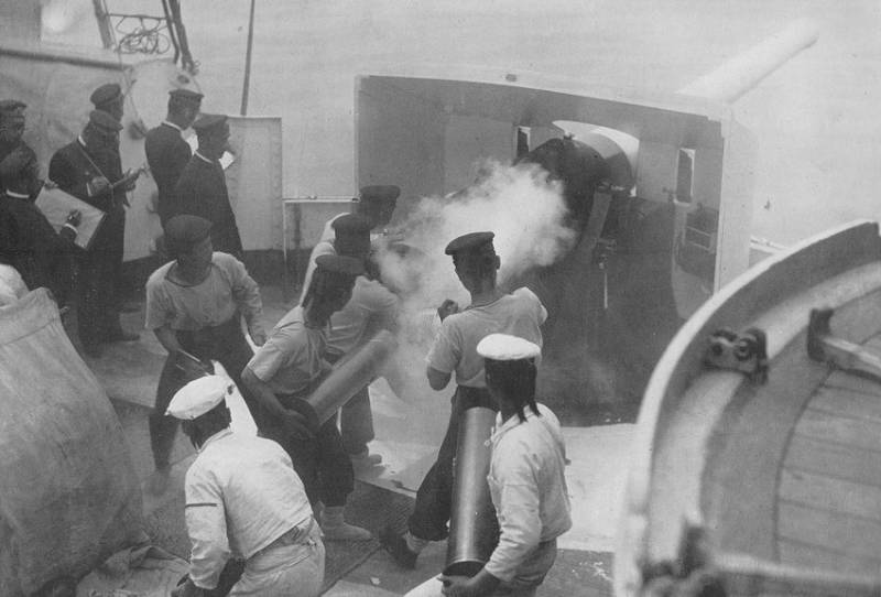 Цусима. Факторы точности японской артиллерии история