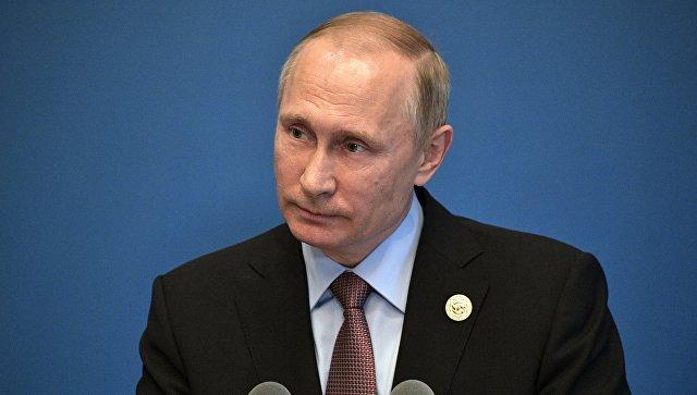 Путин готов предоставить сенату США запись беседы Трампа и Лаврова