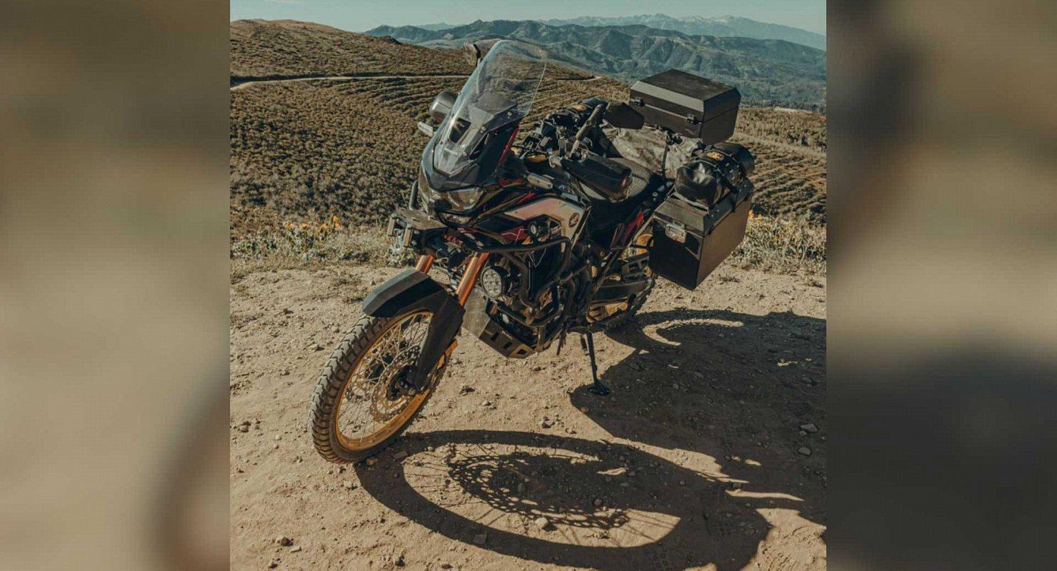 На выставка Overland Expo в Африке представили «близнеца» Honda Ultimate Автомобили